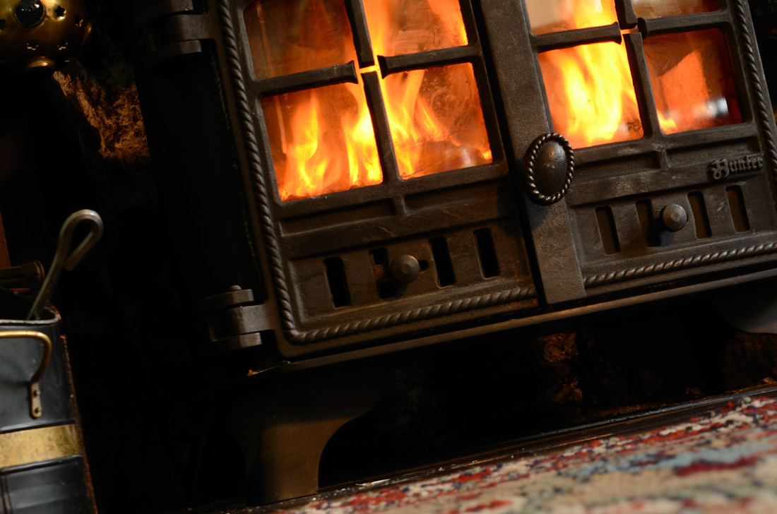 Warmth of the Blackwaterfoot Lodge Hotel, Arran, Scotland