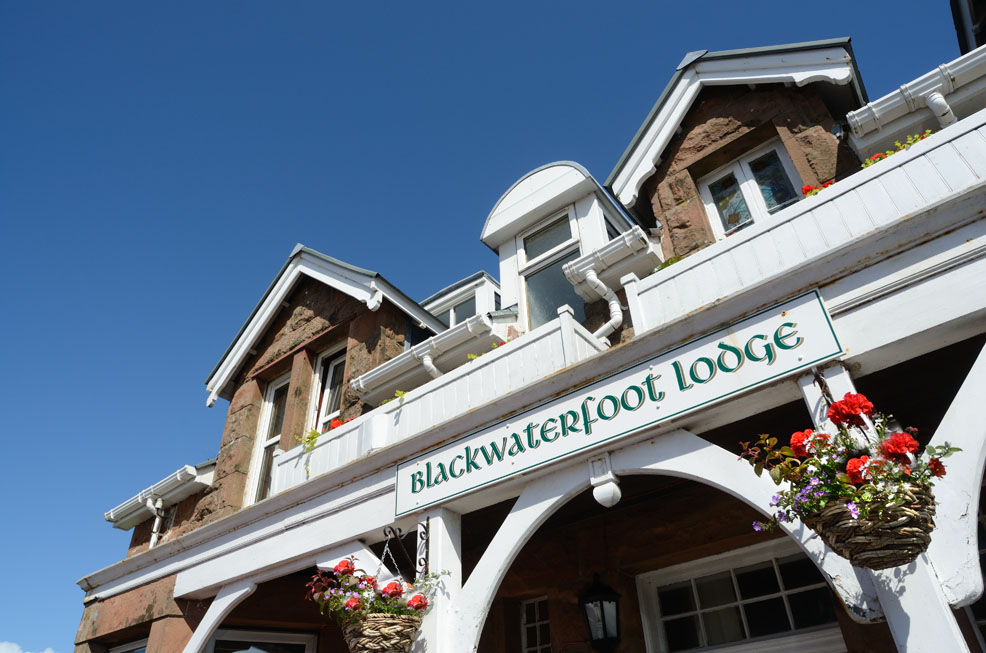 Blackwaterfoot Lodge Hotel accommodation on Arran, Scotland
