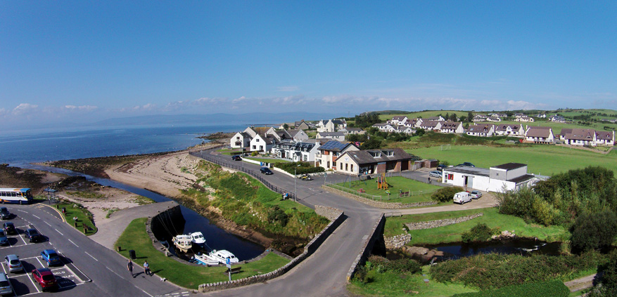 Blackwaterfoot on the Isle of Arran, Scotland