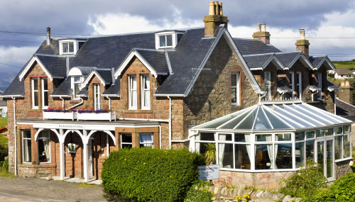 Blackwaterfoot Lodge Hotel, Arran, Scotland